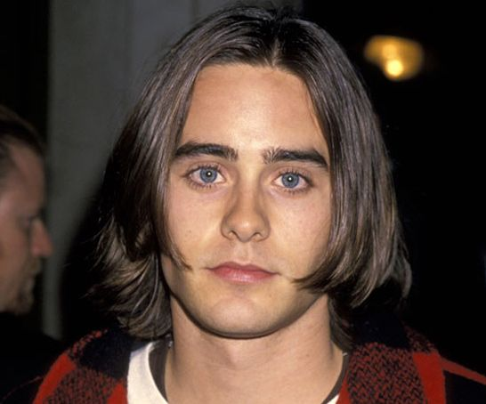 Jared Leto in 17 Years - Jared Leto - 1994: ouuwwh the Curtain Call look