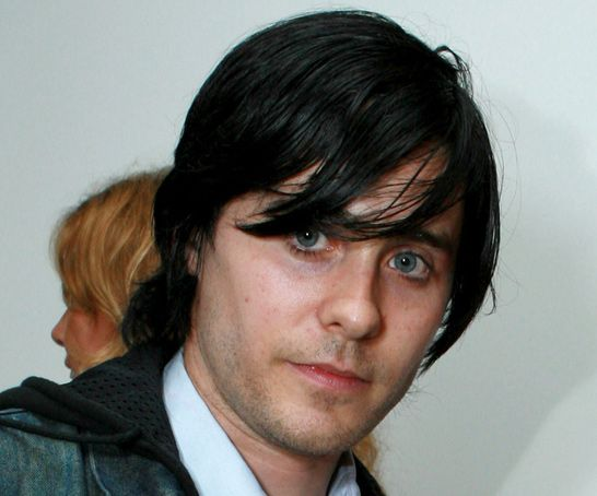 Jared Leto in 17 Years - Jared Leto - 1996: heavy black bangs