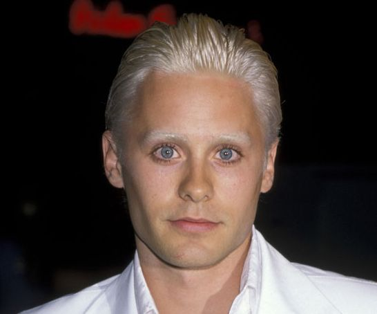 Jared Leto in 17 Years - Jared Leto - 1998: Totally Bleach Blonde