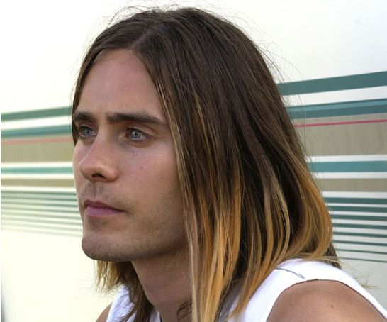 Jared Leto in 17 Years - Jared Leto - 2003: Long haired rocker with roots