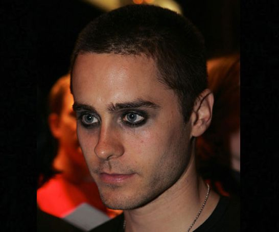 Jared Leto in 17 Years - Jared Leto - 2005: Shaved with dark eyeliner!