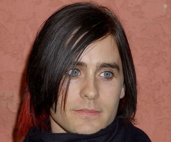 Jared Leto in 17 Years - Jared Leto - 2006: Huge bangs with Red Tips