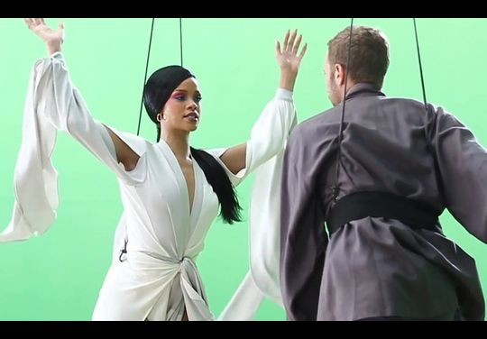Coldplay/Rihanna Princess Of China - Behind The Scenes