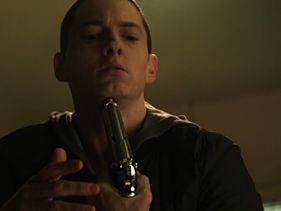 Eminem Shoots Himself