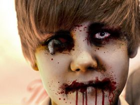 Halloween Celebrity Zombies - Updated!! - justin bieber zombie
