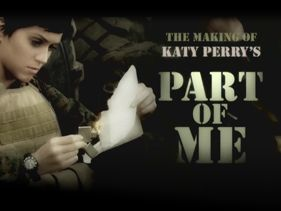 "Katy Perry's Making Of ""Part Of Me"" - 20 Minutes of Katy, Marines and Mud In The Face!"