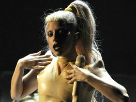 Lady Gaga Born This Way Grammy Performance