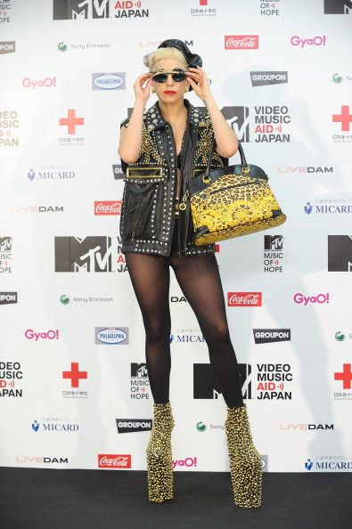 MTV Video Music Aid Awards | Gallery | Lady Gaga / Tokio Hotel - Lady Gaga on the Red Carpet at the MTV Japan Video Music Aid Awards in Chiba, Japan on June 25th, 2011