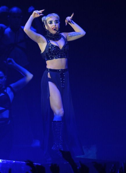 MTV Video Music Aid Awards | Gallery | Lady Gaga / Tokio Hotel - Lady Gaga performs Born This Way at the 2011 MTV Japan Video Music Aid Awards at Makuhari Mess