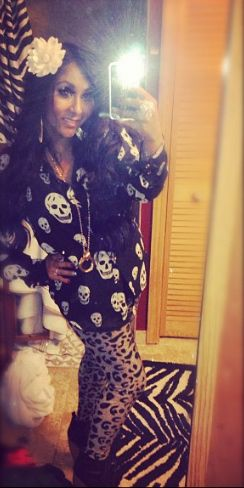 Snooki Looking Great After Birth of Baby Lorenzo - Snooki looking lean and mean or perhaps beautifully squishy