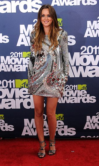 2011 MTV Movie Awards | Red Carpet - Leighton Meester