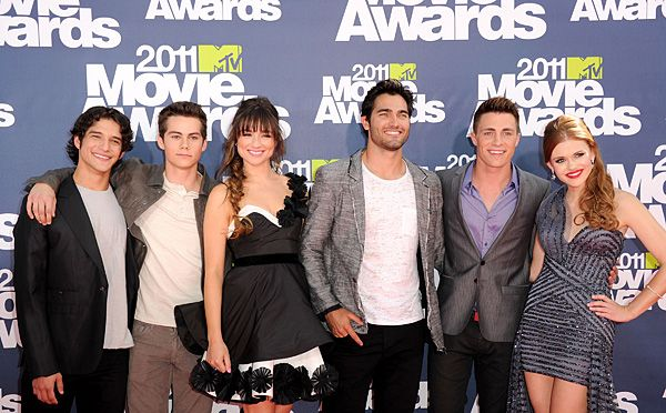 2011 MTV Movie Awards | Red Carpet - New MTV Series Cast for Teen Wolf