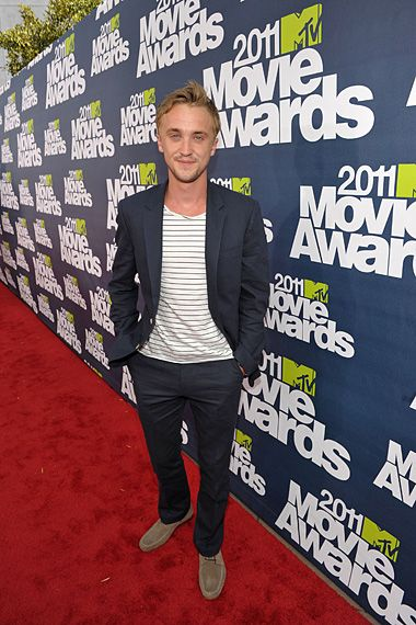 tom felton 2011 mtv awards. 2011 MTV Movie Awards | Red