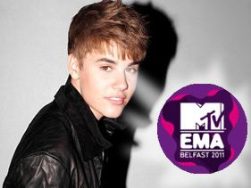 Justin Bieber and David Guetta Latest Performers For 2011 EMAs.
