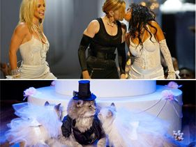 Madonna, Christina Aguilera, and Britney Spears's VMA Makeout