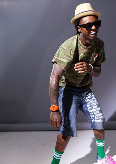 2011 VMAs | Promo Shoot | Lil' Wayne - Lil Wayne brings the party to the 2011 VMAs