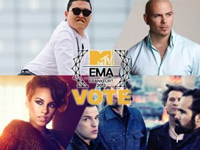 Alicia Keys, Pitbull, Psy And The Killers Join Line-Up For 2012 EMAs