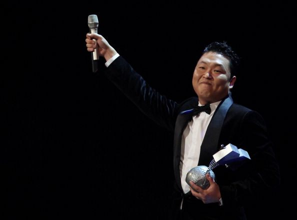 2012 MTV EMA | Winners - Psy -2012 MTV EMA Best Video