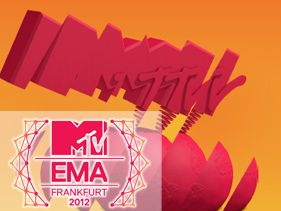 2012 MTV EMA Winners