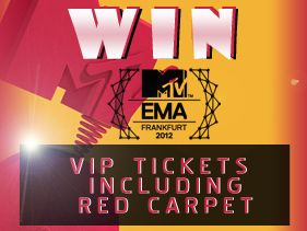 Win VIP Tickets To 2012 EMAs - Only Until Oct. 29th - Enter Now!
