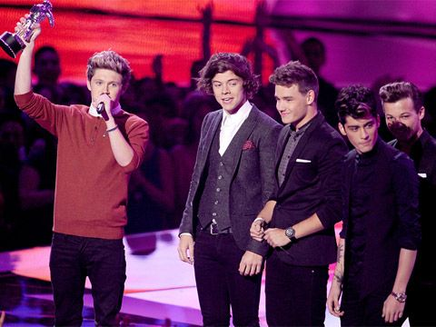 2012 VMA | Winners - One Direction win for the Best New Artist