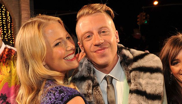 Macklemore with beautiful, Fiancée Tricia Davis