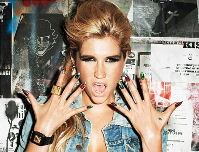 MTV's Picks on The Most Outrageous, Fun, Quirky and Crrrazy Fashion Moments of 2011 so Far - Ke$ha Designs Watches For Baby-G, Models Them With No Pants On