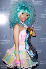 Nicki Minaj's Candy Look at NY Fashion Week! Yum Yum....