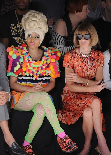 Nicki Minaj's Candy Look at NY Fashion Week! Yum Yum.... - New York Fashion week- Front row