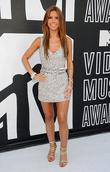 MTV Stars at the 2010 VMA's - Audrina