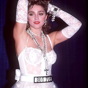 Madonna Drinks From the Fountain Of Youth - Madonna 'Like-A-Virgin' 28 years ago!