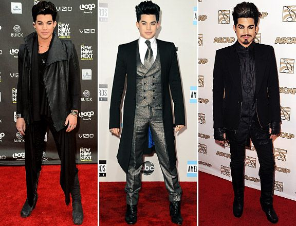 BEST DRESSED MEN OF 2011 - 8) Adam Lambert at Logo's
