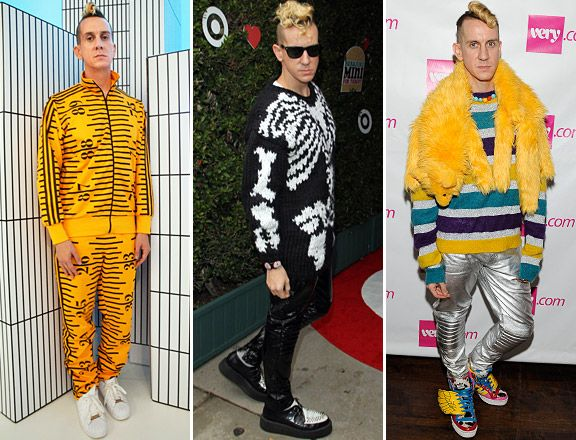BEST DRESSED MEN OF 2011 - 10) Jeremy Scott at a presentation of Jeremy Scott for Adidas Originals on Oct. 7, at the launch of Gwen Stefani's new children's clothing line Harajuku Mini for Target on Nov. 12, and at the Very.com NY launch event on Dec. 13.Photo: Getty Images/WireImage