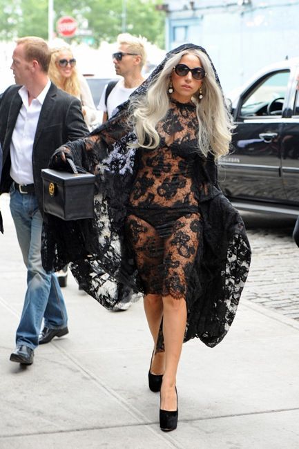 Lady Gaga's Crazy Autumn Fashion Moments - Suprisingly normal footwear
