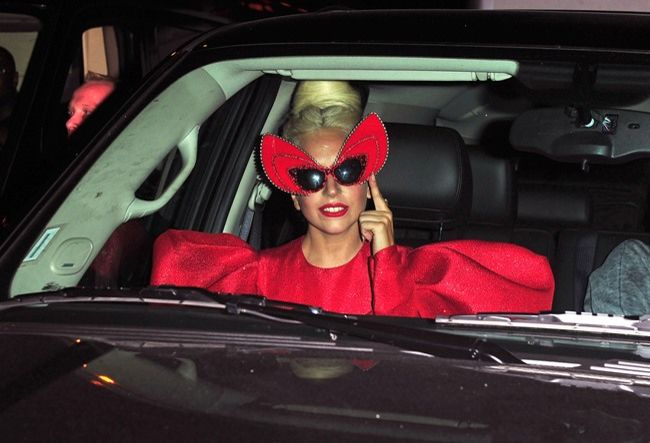 Lady Gaga's Crazy Autumn Fashion Moments - Lady Gaga's Crazy Autumn Fashion Moments
