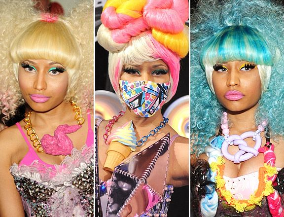 BEST OF 2011 | CELEBRITY ACCESSORIES - #2) Food Bling - Nicki Minaj wearing food-themed jewelry from Onch Movement. <a href='/news/must-see-must-have-celeb-accessories-of-2011/' target='_blank'>[READ FULL ARTICLE]</a>