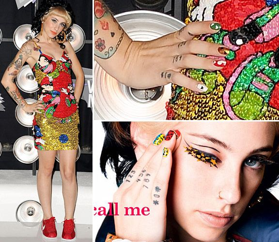 Funky Celeb Nails - Kreay Shawn