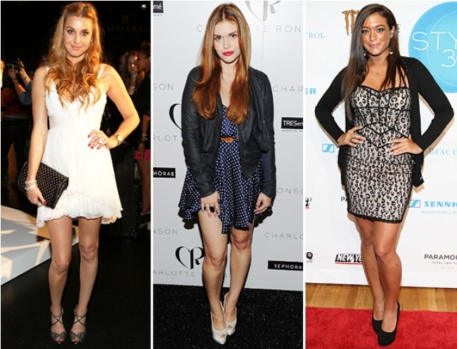 MTV's Picks on The Most Outrageous, Fun, Quirky and Crrrazy Fashion Moments of 2011 so Far - Whitney Port, Holland Roden, Sammi And More MTV Stars At Fashion Week