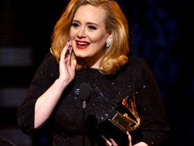 2012 Grammy Award Winners - Adele, Foo Fighters and Kanye West Win Big
