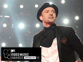 2013 VMA Winners - Justin Timberlake Wins The Night