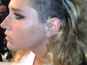 Ke$ha Shaves For New Year - Beauty or Blechhh??