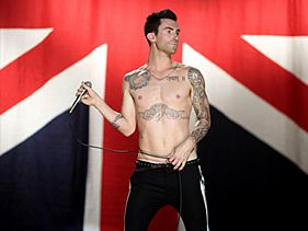 "No. 1 for Adam Levine and Christina Aguilera with ""Moves Like Jagger"" - Hot in Europe"