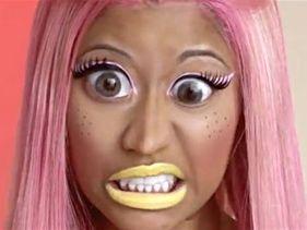 "Nicki Minaj Schizophrenic ""Super Hoe"" - New Video"