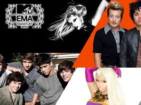 2012 MTV EMA Nominees Are Here - Taylor Swift and Rihanna Lead The Pack