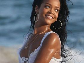 Rihanna Presents Video Of Barbados Beach Frolic - Classy AND Sexy!