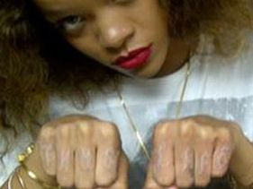 Rihanna Gets Two New Tattoos (at least) - See Them Here