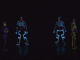 [VIDEO] TRON Light Dance Inspired Video - OMG - Amazing
