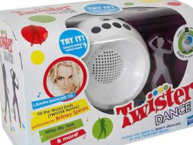 Britney Spears Puts A Spin on Kid's Game &quot;Twister Dance&quot;