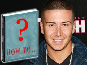 Vinny To Release Self-Help Book