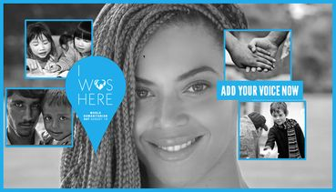 Beyonce Encourages Us To Lend A Hand For World Humanitarian Day on Sunday August 19th